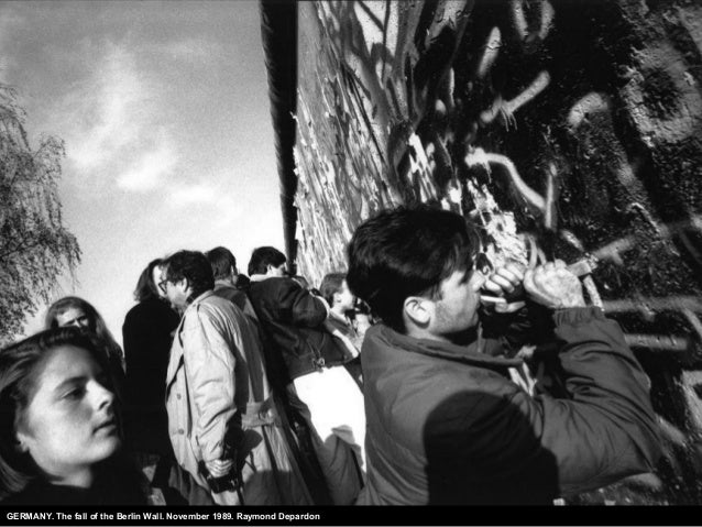 GERMANY. The fall of the Berlin Wall. November 1989. Raymond Depardon