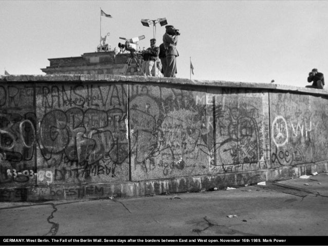 GERMANY. West Berlin. The Fall of the Berlin Wall. Seven days after the borders between East and West open. November 16th ...