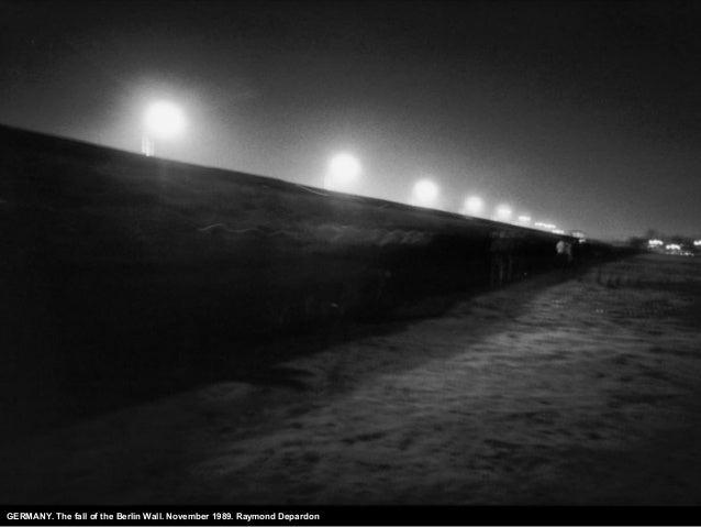 GERMANY. The fall of the Berlin Wall. November 1989. Raymond Depardon