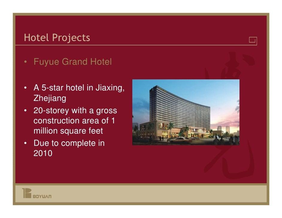 Boyuan Construction Investor Presentation