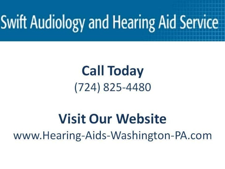 Alzheimers &Hearing LossCall Today (724) 825-4480