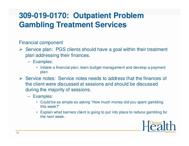 Barriers to treatment for problem gambling 20 20 gambling