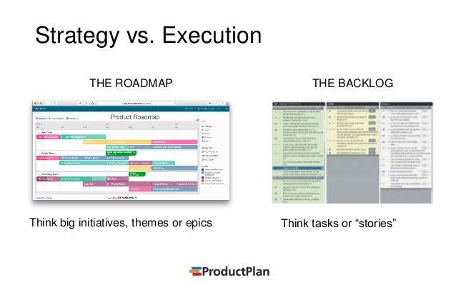 Tying Roadmap Strategy to Agile Planning – Planning Roadmap