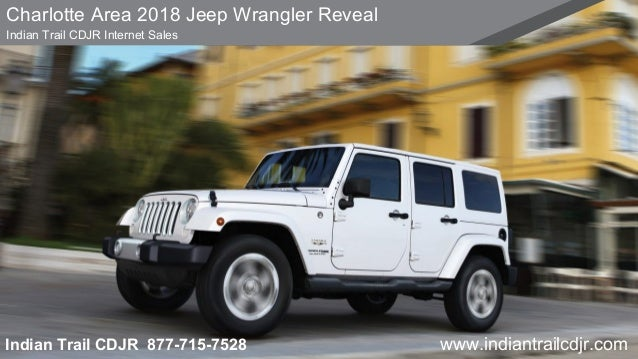 Charlotte Area 2018 Jeep Wrangler Reveal