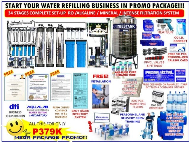 water refilling One of fast expanding business in manila, and in most metro cities nationwide, is the water refilling station it's mushrooming on every street corner, because a lot of people in urban areas.
