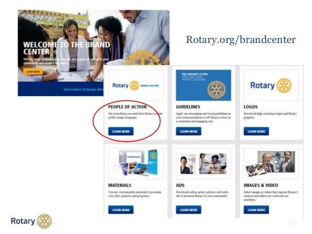 1 7 Rotary.org/brandcenter
