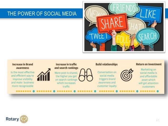 2 7 THE POWER OF SOCIAL MEDIA
