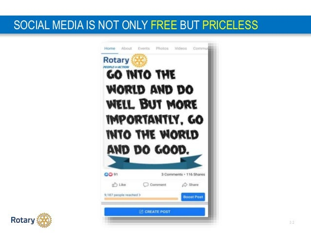 3 2 SOCIAL MEDIA IS NOT ONLY FREE BUT PRICELESS