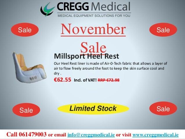 Cregg Medical November Sale!