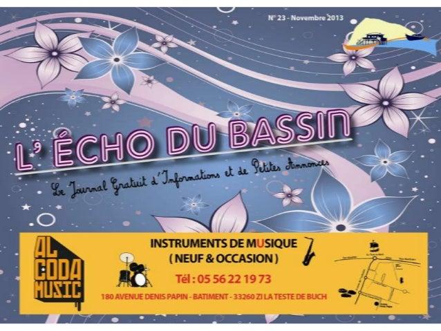 Echo du Bassin Novembre