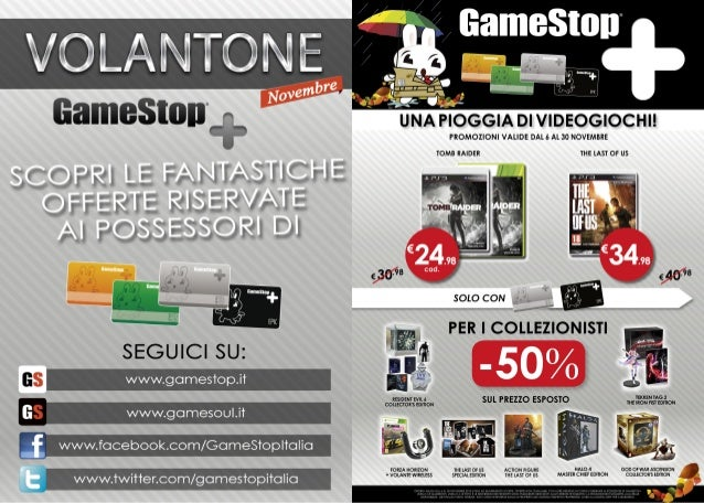 Volantone Novembre 2013 - GameStop Italia!
