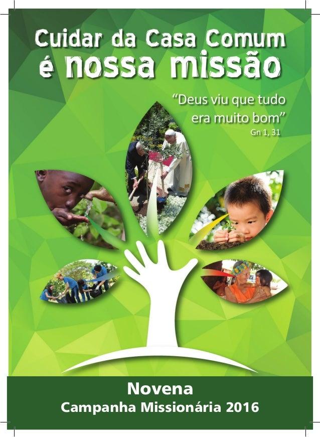 Campanha Missionária 2015Novena Campanha Missionária 2016