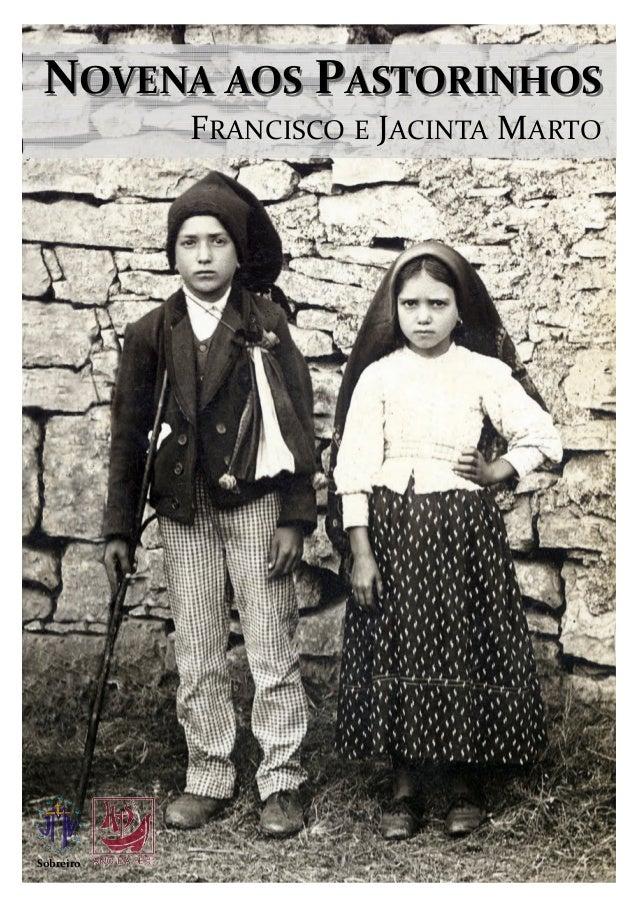 NOVENA AOS PASTORINHOS           FRANCISCO E JACINTA MARTOSobreiro