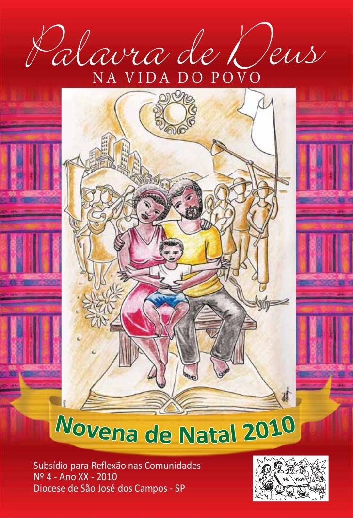 Palavra de Deus              NA VIDA DO POVO     Subsídio para Reflexão nas Comunidades Nº 4 - Ano XX - 2010 Diocese de Sã...