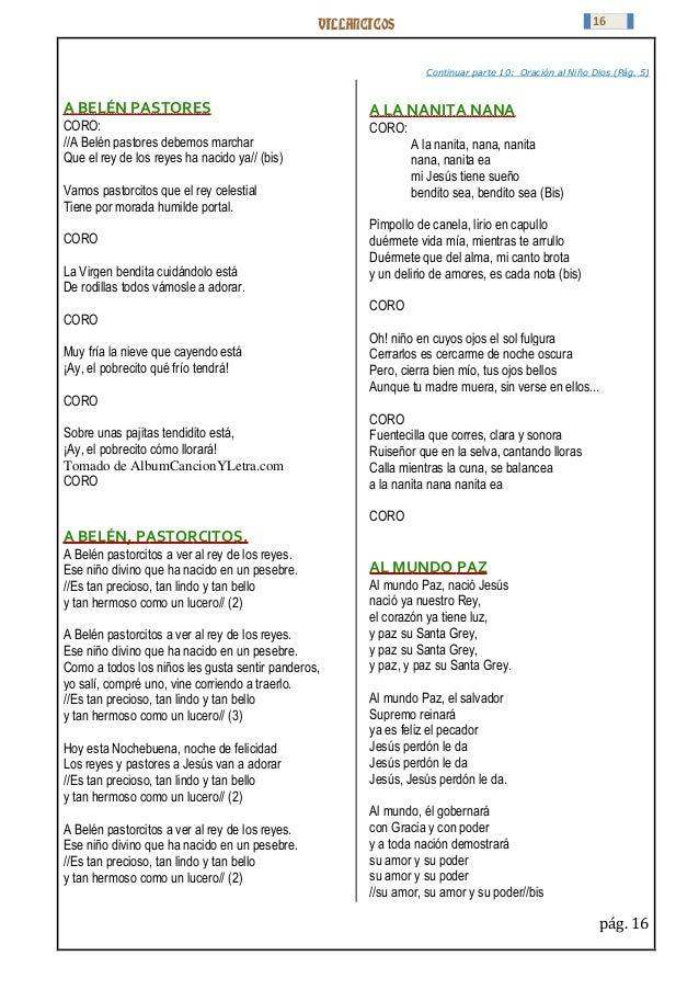 Cancion de navidad villancico din don dan letra