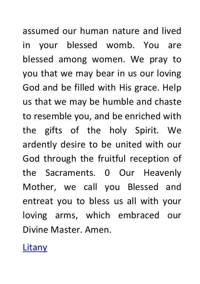 Novena prayer to our lady of vailankanni