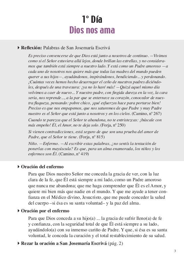 Novena a san Josemaría para la curación de los enfermos Slide 3