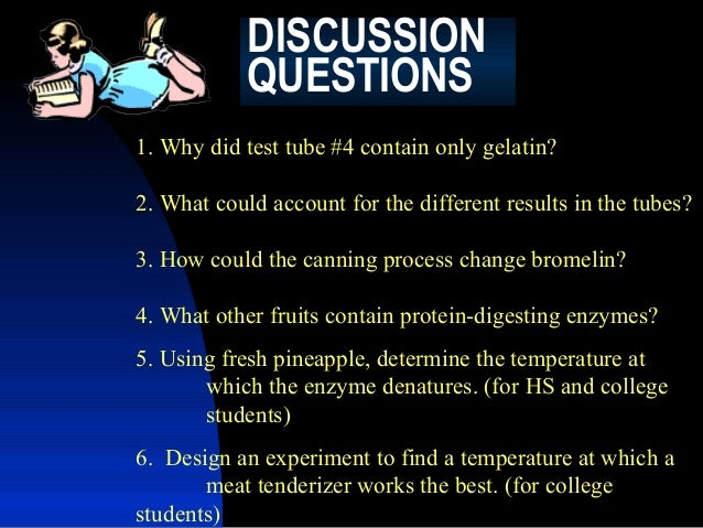 jello and enzyme lab Free essay: enzymes lab report inroduction in this lab we explore an enzymes activity and how it can be affected by changes to its environment an enzyme is.