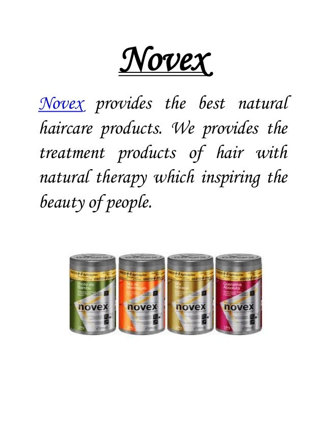 Novex Novex provides the best natural haircare products. We provides the treatment products of hair with natural therapy w...