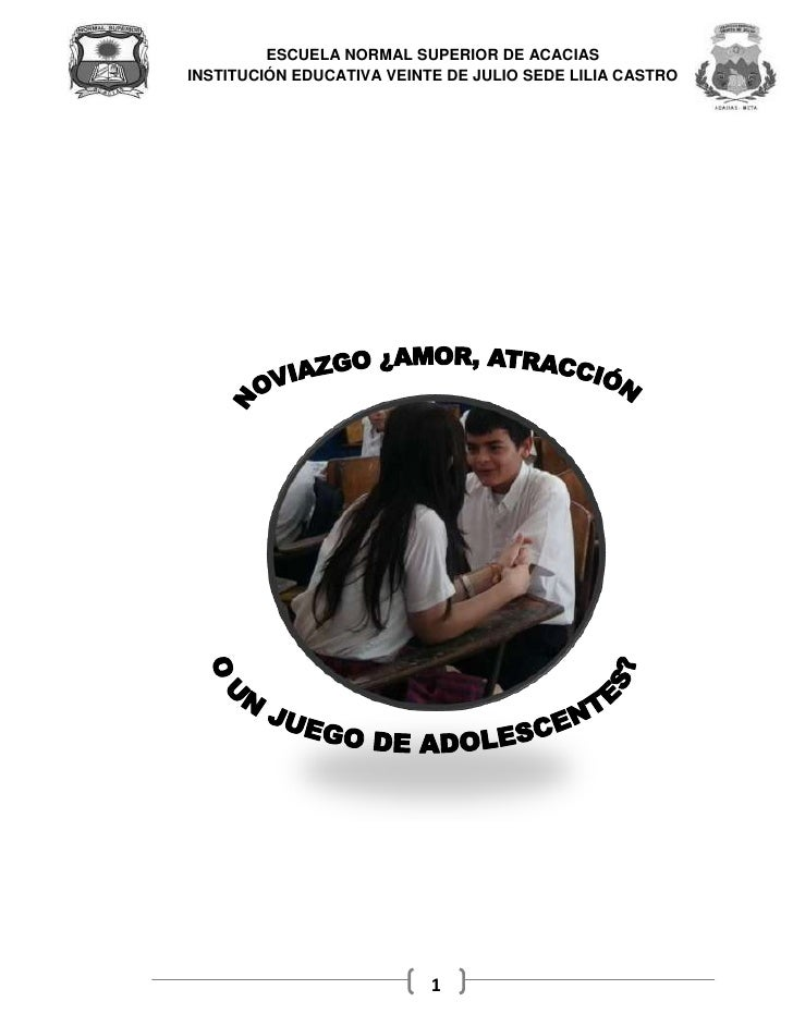 ESCUELA NORMAL SUPERIOR DE ACACIASINSTITUCIÓN EDUCATIVA VEINTE DE JULIO SEDE LILIA CASTRO                           1