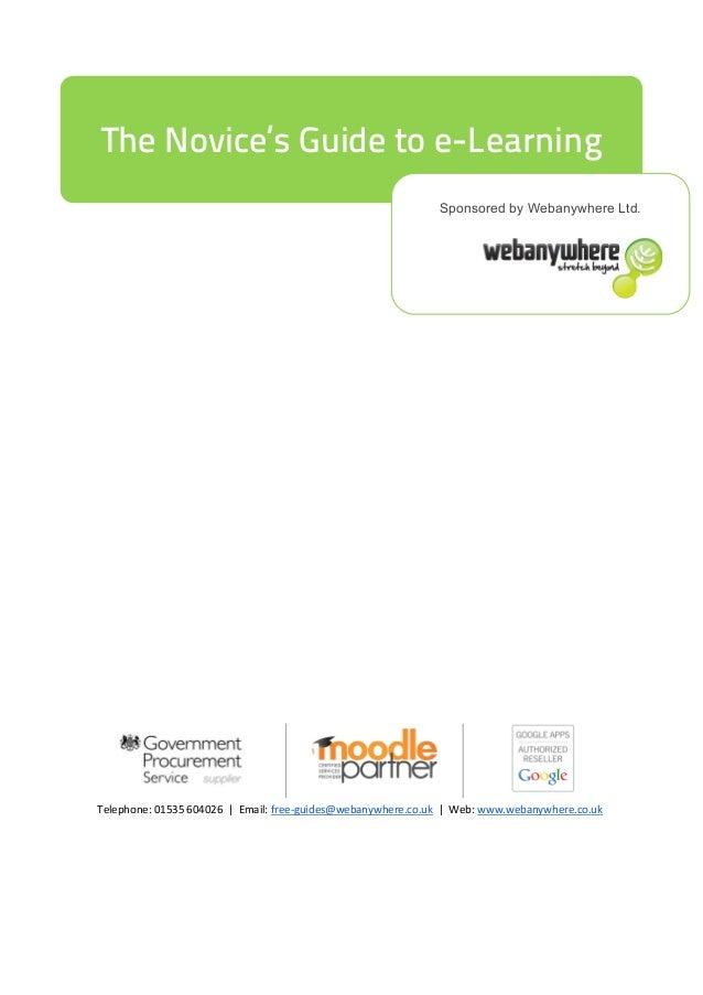 Sponsored by Webanywhere Ltd. Telephone: 01535 604026   Email: free-guides@webanywhere.co.uk   Web: www.webanywhere.co.uk ...