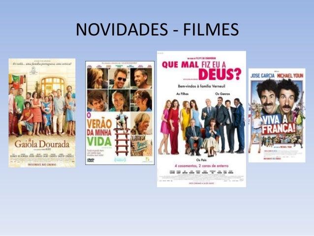 NOVIDADES - FILMES