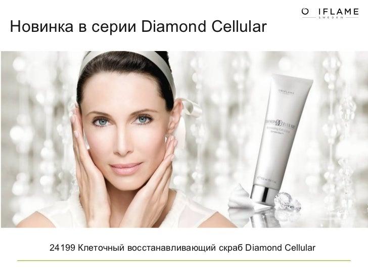 24199 Клеточный восстанавливающий скраб Diamond Cellular  Новинка в серии  Diamond Cellular