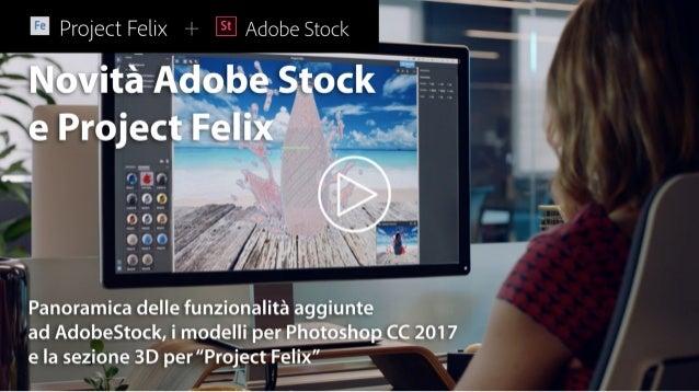 Novità Adobe Stock CC 2017