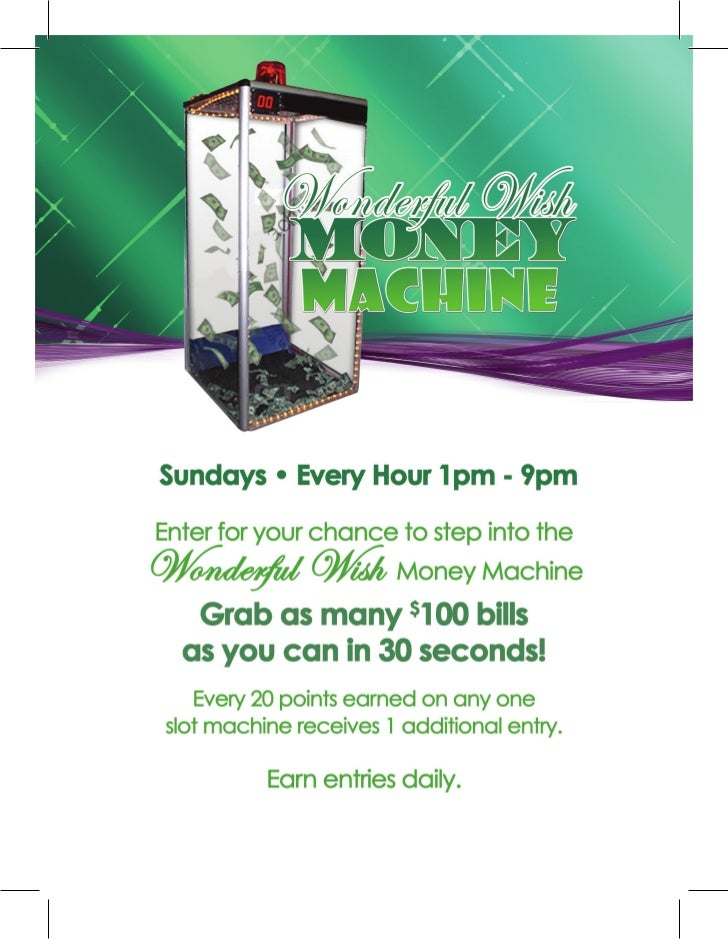 Wonderful Wish Money Machine - Slot Machines Florida