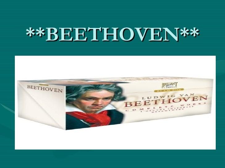 **BEETHOVEN**