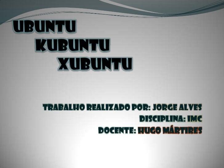 Trabalho realizado por: Jorge Alves                    Disciplina: IMC           Docente: Hugo Mártires
