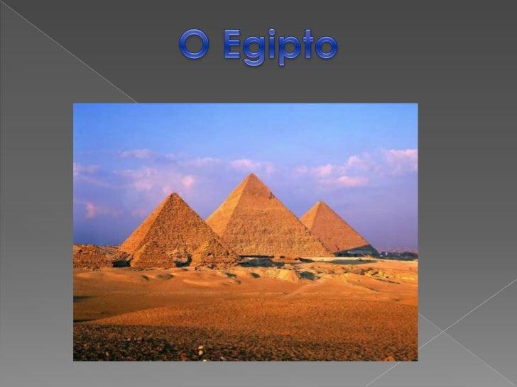 O Egipto<br />