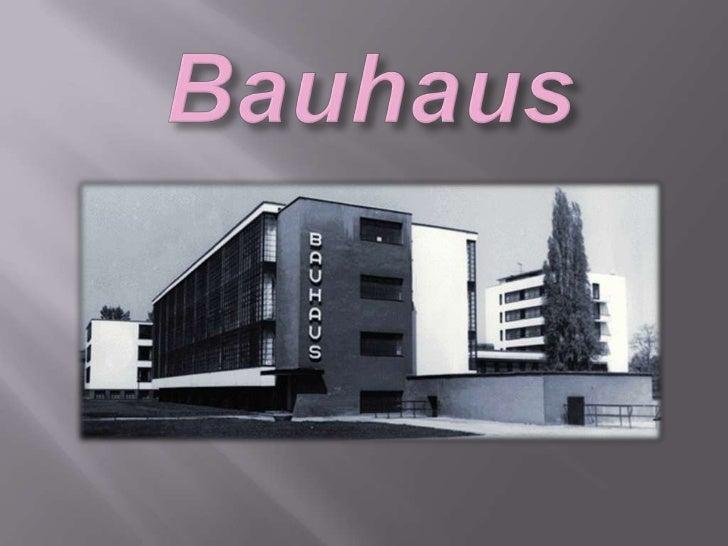 Neste trabalho vou falar sobre o Bauhaus, vou  dizer o que é o Bauhaus, por quem foi  fundada, e dos artistas que frequent...