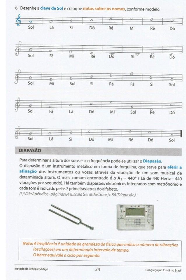 6. Desenhe a clave de Sol e coloque notas sobre os nomes,  conforme modelo.    J % be a  Sol La Si Dé Ré Mi Ré D6     g So...