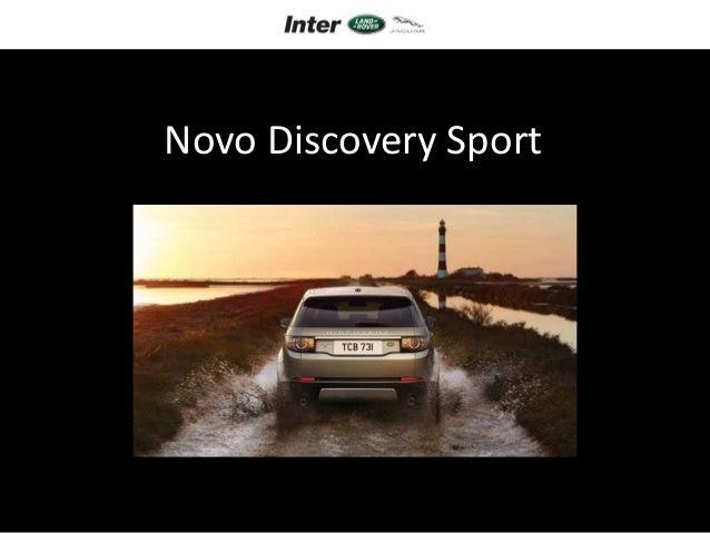 Novo Discovery Sport