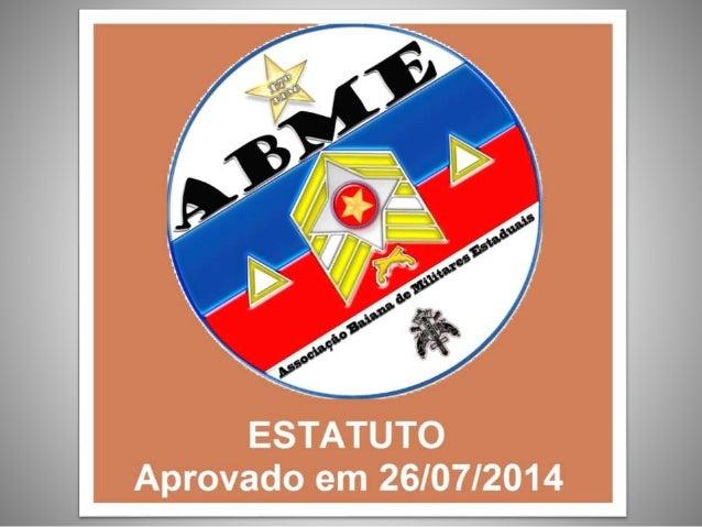 Denominação Art. 1º. A Associação Beneficente, Cultural e Recreativa dos Praças do 17º BPM / Guanambi – Bahia,com orgulhos...