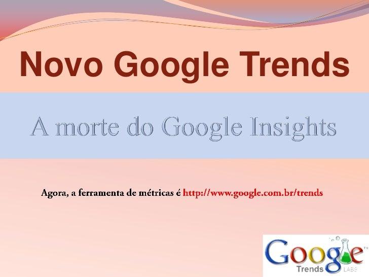 Novo Google Trends