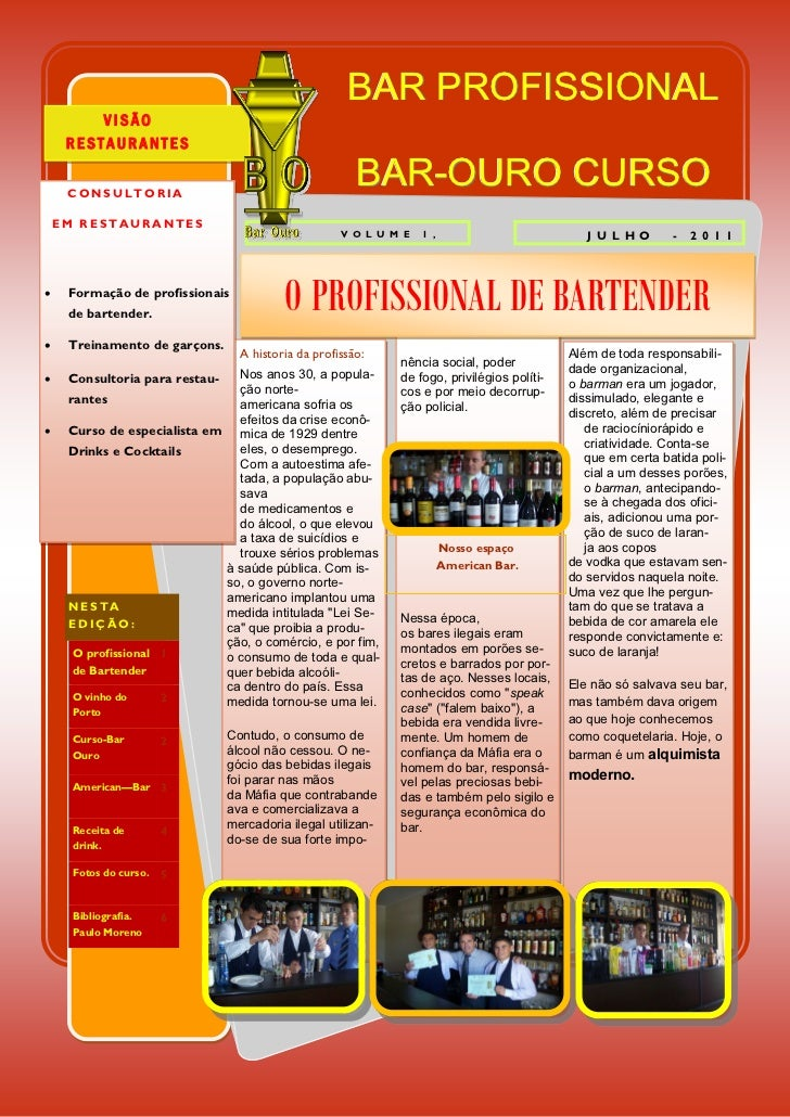BAR PROFISSIONAL         VISÃO     RESTAURANTES     CONSULTORIA                                                        BAR...