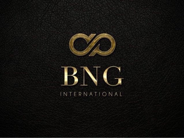 EMPRESA O que é BNG? BNG é o conceito que representa uma forma revolucionária de fazer negócios. Encontre melhor qualidade...