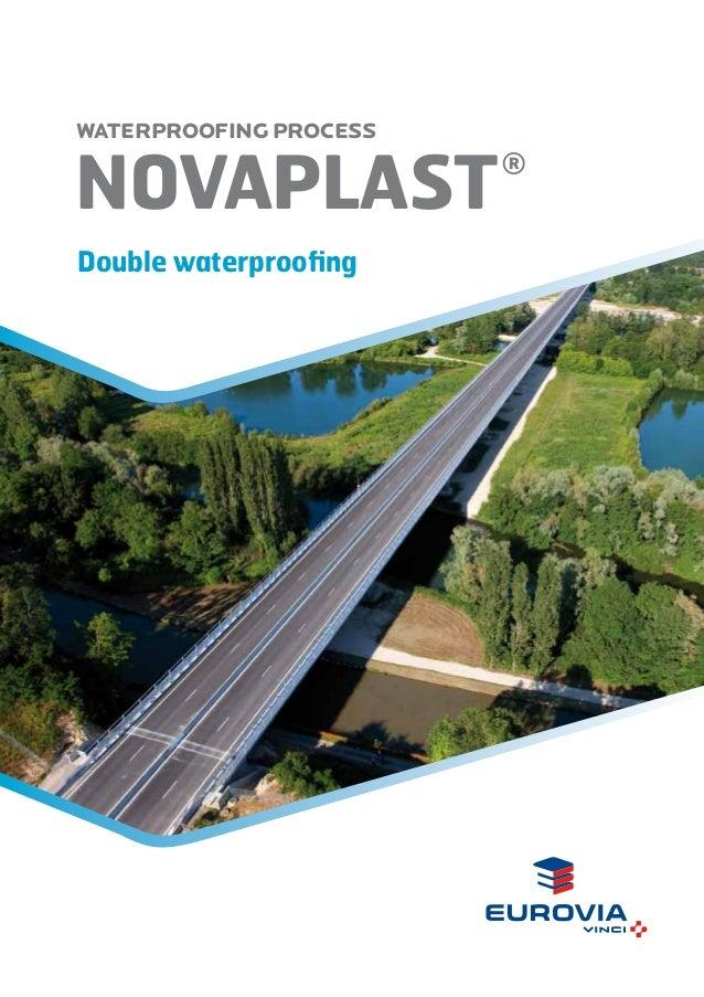 WATERPROOFING PROCESS  novAplast Double waterproofing  ®