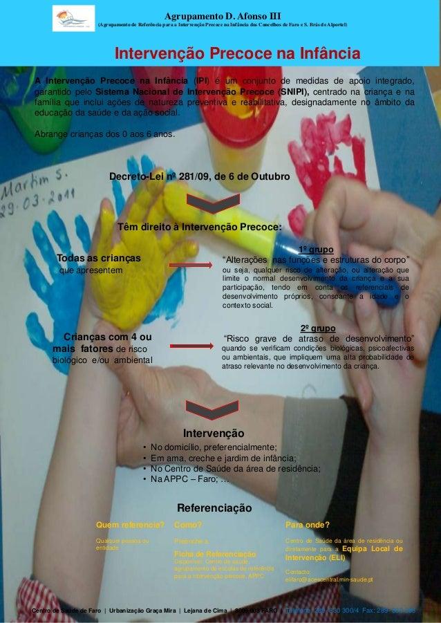 Agrupamento D. Afonso III                     (Agrupamento de Referência para a Intervenção Precoce na Infância dos Concel...