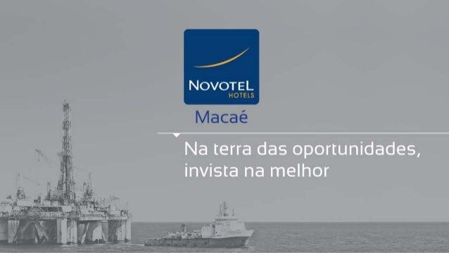 Novotel Macaé - Vendas (21) 3021-0040 - ImobiliariadoRio.com.br