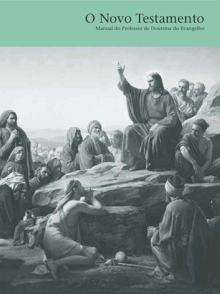 O Novo Testamento Manual do Professor de Doutrina do Evangelho
