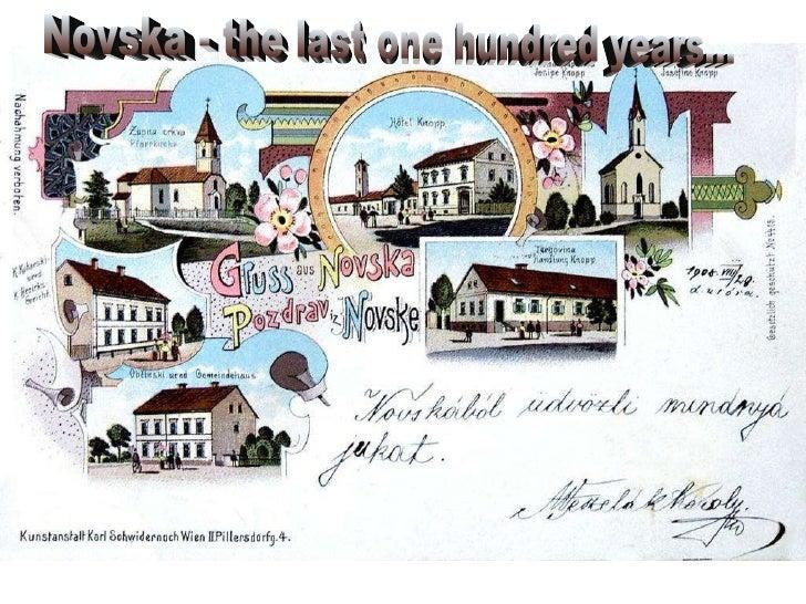 Novska - the last one hundred years...