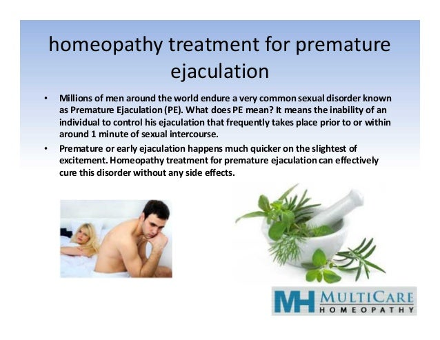 homeopathy treatment for premature ejaculation • Millions of men around the world endure a very common sexual disorder kno...