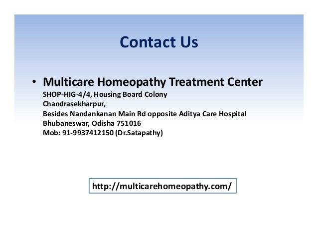 Contact Us • Multicare Homeopathy Treatment Center SHOP-HIG-4/4, Housing Board Colony Chandrasekharpur, Besides Nandankana...