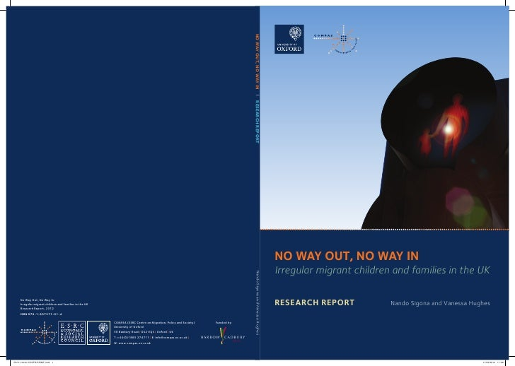 NO WAY OUT, NO WAY IN  |  RESEARCH REPORT                                                                                 ...
