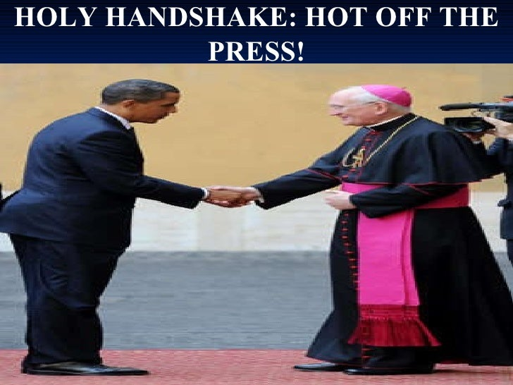 HOLY HANDSHAKE: HOT OFF THE PRESS!