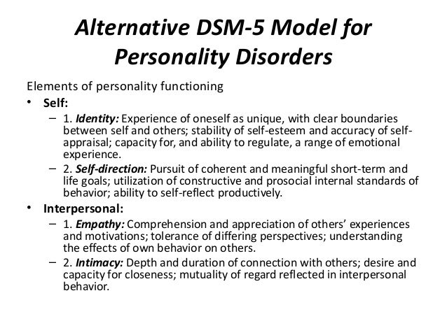 Nowell des personality disorders october 2014 – Co-occurring Disorders Worksheets