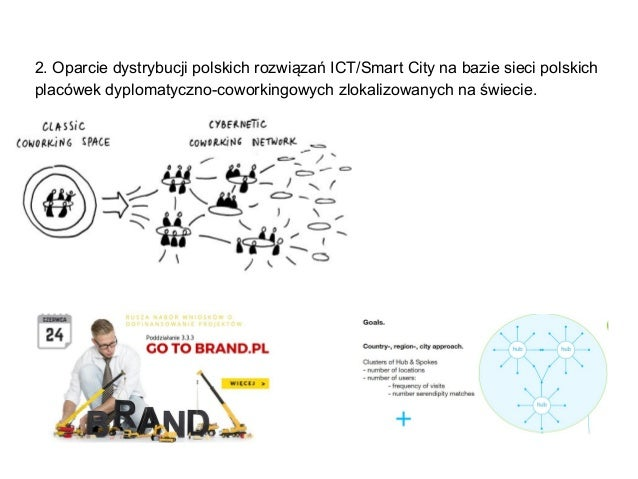 2. Oparcie dystrybucji polskich rozwiązań ICT/Smart City na bazie sieci polskich placówek dyplomatyczno-coworkingowych zlo...